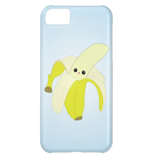 Caso del iPhone del plátano de Kawaii