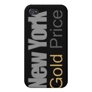 Caso del iPhone del precio del oro de Nueva York iPhone 4/4S Carcasas