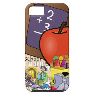 Caso del iPhone del profesor de escuela iPhone 5 Protectores