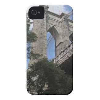 Caso del iPhone del puente de Brooklyn iPhone 4 Case-Mate Cobertura