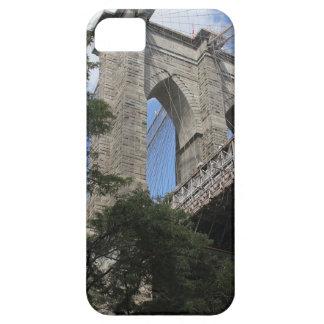 Caso del iPhone del puente de Brooklyn iPhone 5 Funda