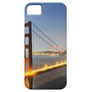 Caso del iPhone del puente de la puerta de Godlen iPhone 5 Funda