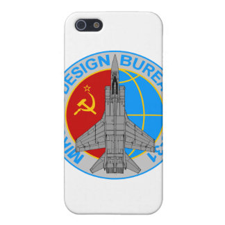 Caso del iPhone del remiendo MiG-31 iPhone 5 Cobertura