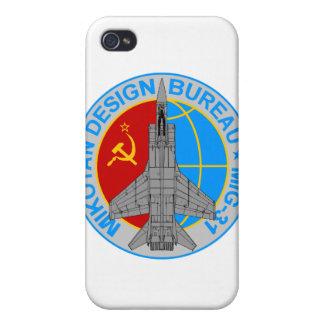 Caso del iPhone del remiendo MiG-31 iPhone 4 Coberturas