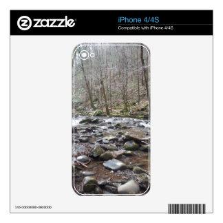 Caso del iphone del río de la montaña skins para eliPhone 4