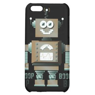 Caso del iPhone del robot del juguete de la señal