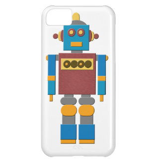 Caso del iPhone del robot del juguete