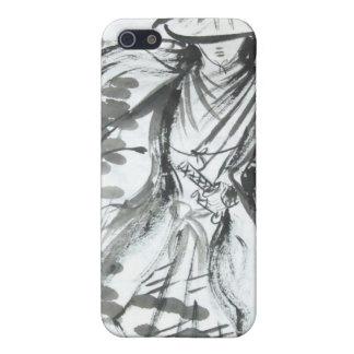 Caso del iPhone del samurai que vaga iPhone 5 Protector