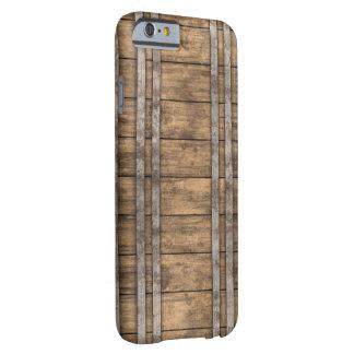 """Caso del iPhone del """"tablón de madera"""" Funda De iPhone 6 Barely There"""