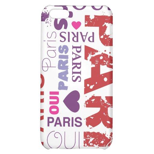 Caso del iphone del t'aime del je de Oui París