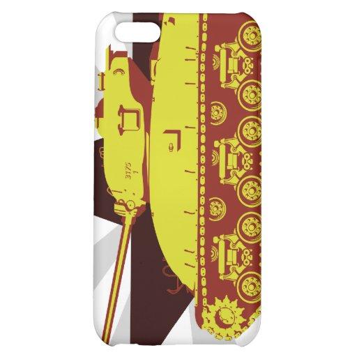 Caso del iPhone del tanque (starburst)