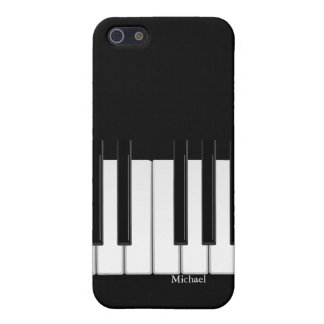 Caso del iPhone del teclado de piano iPhone 5 Carcasa