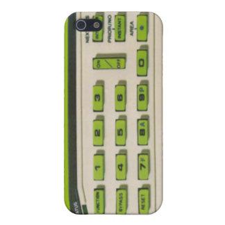 Caso del iPhone del telclado numérico del sistema  iPhone 5 Protectores