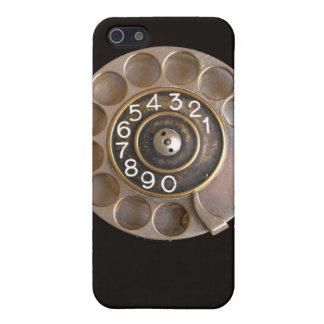 Caso del iPhone del TELÉFONO de DIAL ROTATORIO iPhone 5 Funda