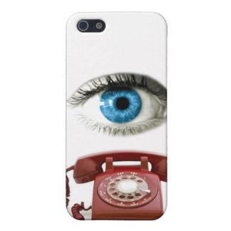 Caso del iPhone del TELÉFONO del OJO iPhone 5 Cobertura
