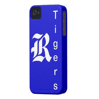 Caso del iPhone del tigre Case-Mate iPhone 4 Cobertura