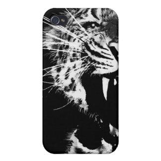 Caso del iPhone del tigre iPhone 4 Protector