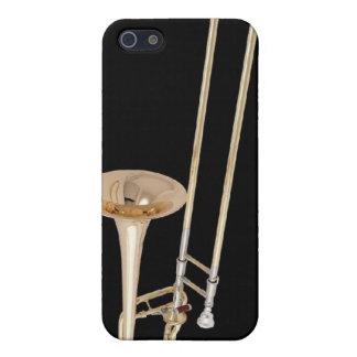 caso del iPhone del trombone iPhone 5 Funda