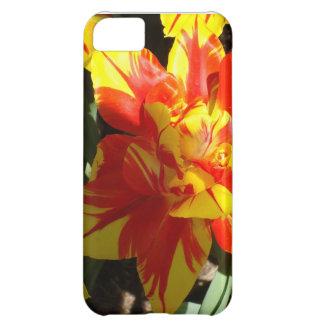 Caso del iPhone del tulipán de la explosión de la