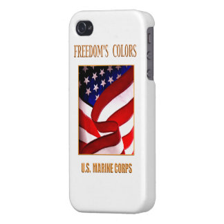 Caso del iPhone del USMC iPhone 4 Fundas