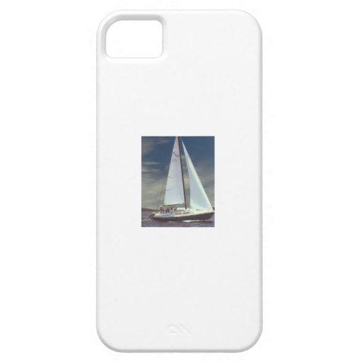 Caso del iPhone del velero iPhone 5 Case-Mate Protectores