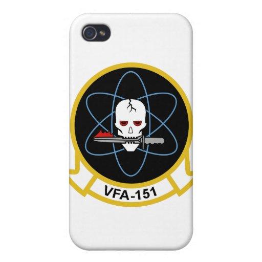 Caso del iPhone del vigilante VFA-151 iPhone 4/4S Funda