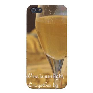 Caso del iPhone del vino iPhone 5 Carcasas