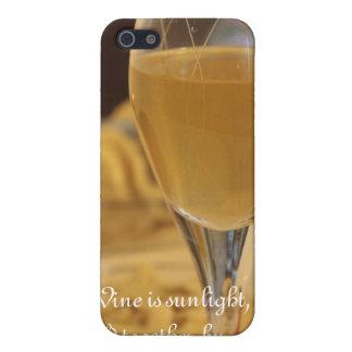Caso del iPhone del vino iPhone 5 Fundas