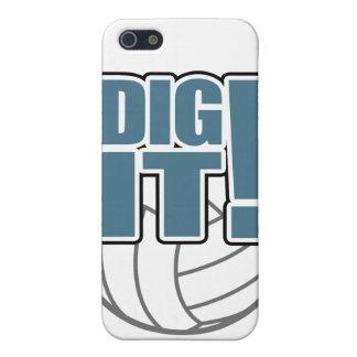 Caso del iPhone del voleibol: ¡Cávelo! iPhone 5 Cobertura