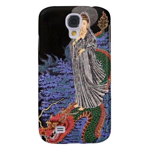 Caso del iphone del yin de Kuan Funda Samsung S4