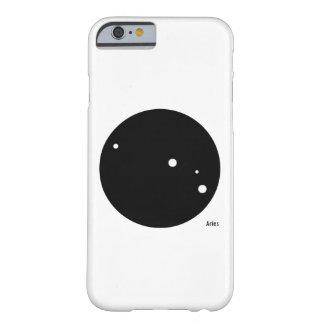 Caso del iPhone del zodiaco (aries) Funda Barely There iPhone 6