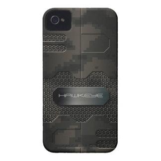 caso del iPhone en Digitaces robóticas Camo iPhone 4 Cárcasas