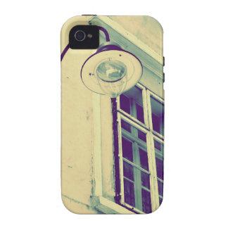 caso del iPhone en vintage de la farola iPhone 4/4S Carcasas