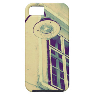 caso del iPhone en vintage de la farola iPhone 5 Funda