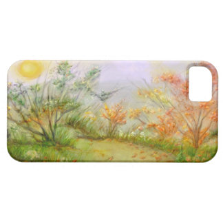 caso del iPhone - escena del otoño iPhone 5 Coberturas