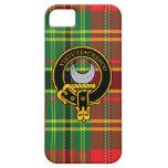 Caso del iPhone escocés 5/5S del escudo y del tart