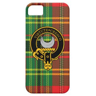 Caso del iPhone escocés 5/5S del escudo y del tart iPhone 5 Protectores