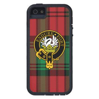 Caso del iPhone escocés 5/5S del escudo y del tart iPhone 5 Cobertura