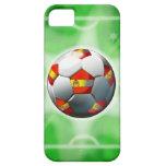 Caso del iPhone español 5 del fútbol/del fútbol iPhone 5 Case-Mate Cárcasas