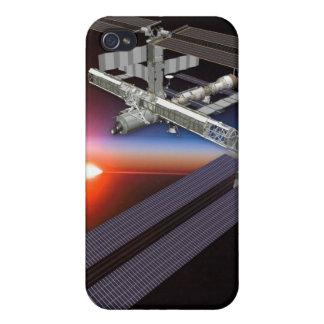 caso del iPhone/estación espacial internacional iPhone 4 Carcasa