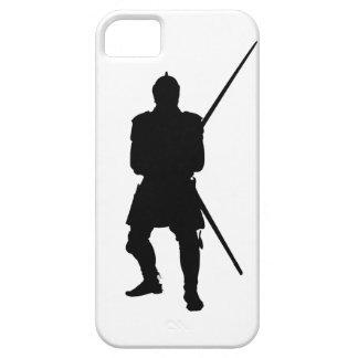 caso del iphone, guerrero, samurai iPhone 5 Case-Mate coberturas