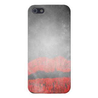 caso del iphone - helada y labios iPhone 5 fundas
