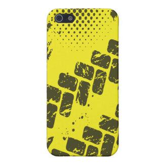 Caso del iPhone intrépido de la Neumático-Pista y iPhone 5 Cárcasa