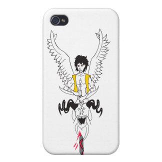 caso del iphone iPhone 4 protectores