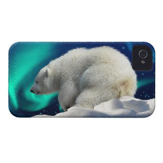 Caso del iPhone lindo 4 del oso polar Cub y de la
