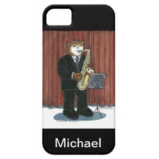 caso del iPhone para el jugador de saxofón iPhone 5 Carcasa