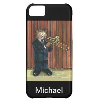 caso del iPhone para el jugador de Trombone Funda Para iPhone 5C