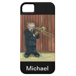 caso del iPhone para el jugador de Trombone iPhone 5 Carcasa