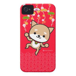 caso del iPhone - perrito - JapaneseRed Case-Mate iPhone 4 Cárcasas