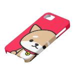 caso del iPhone - perrito - rojo iPhone 5 Case-Mate Protector
